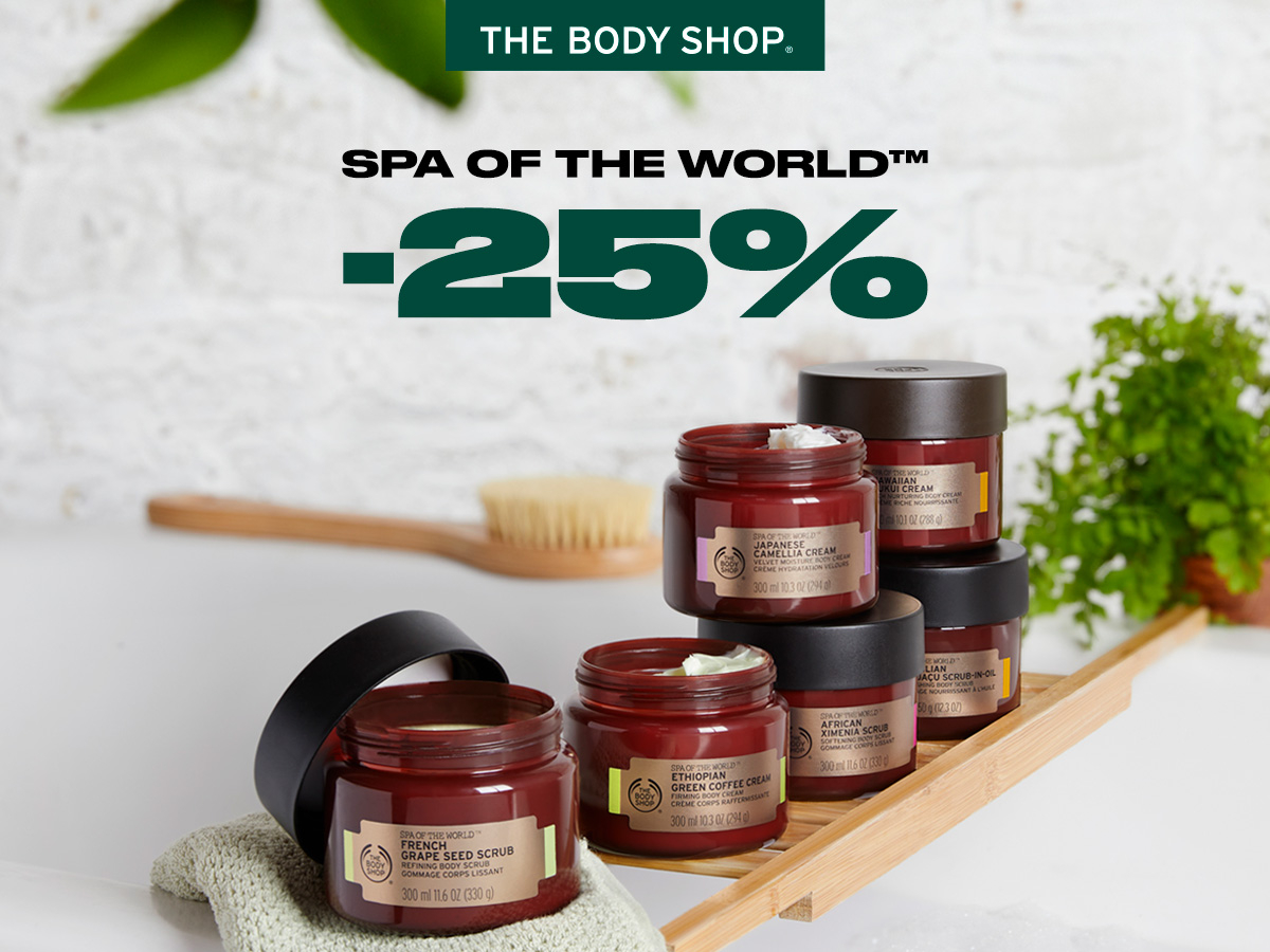 -25% Spa Of The World™ produktiem