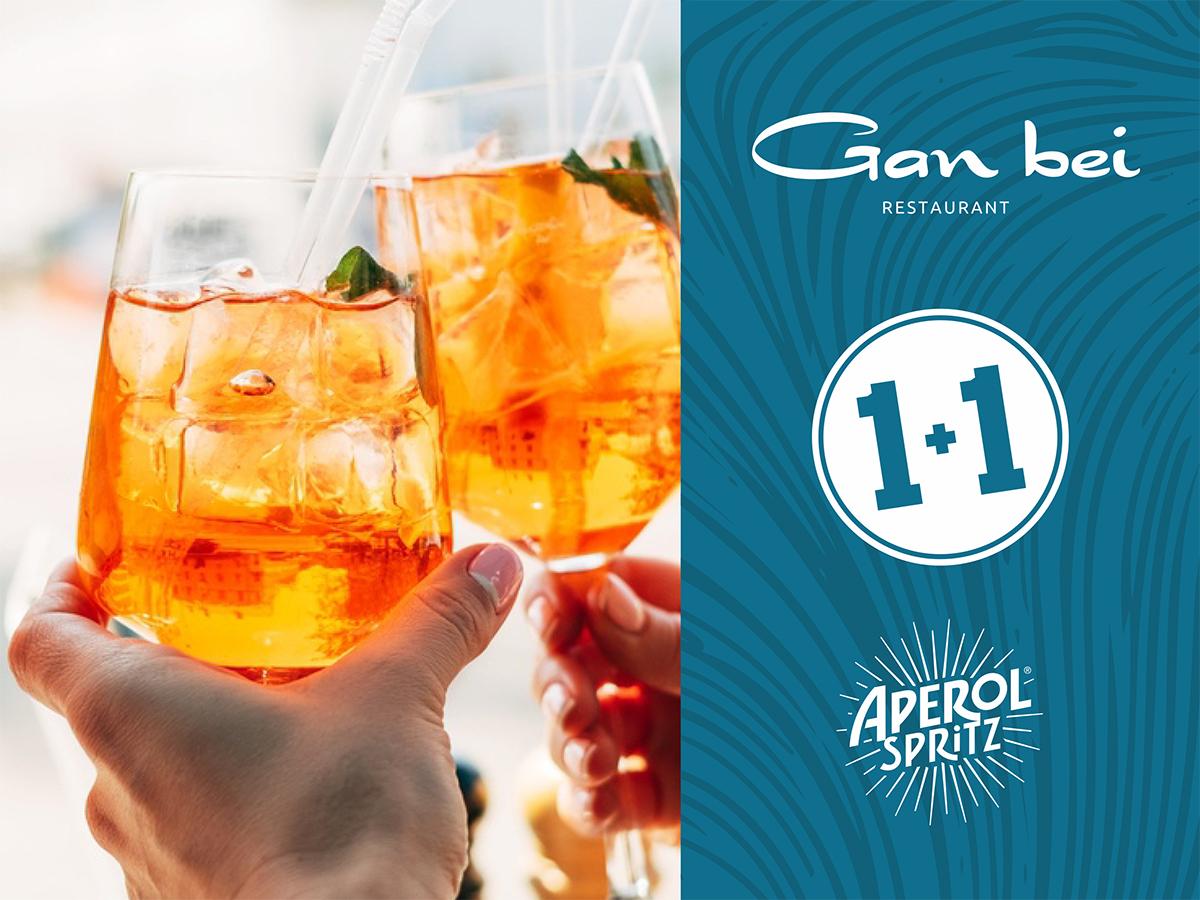 Aperol Spritz 1 +1