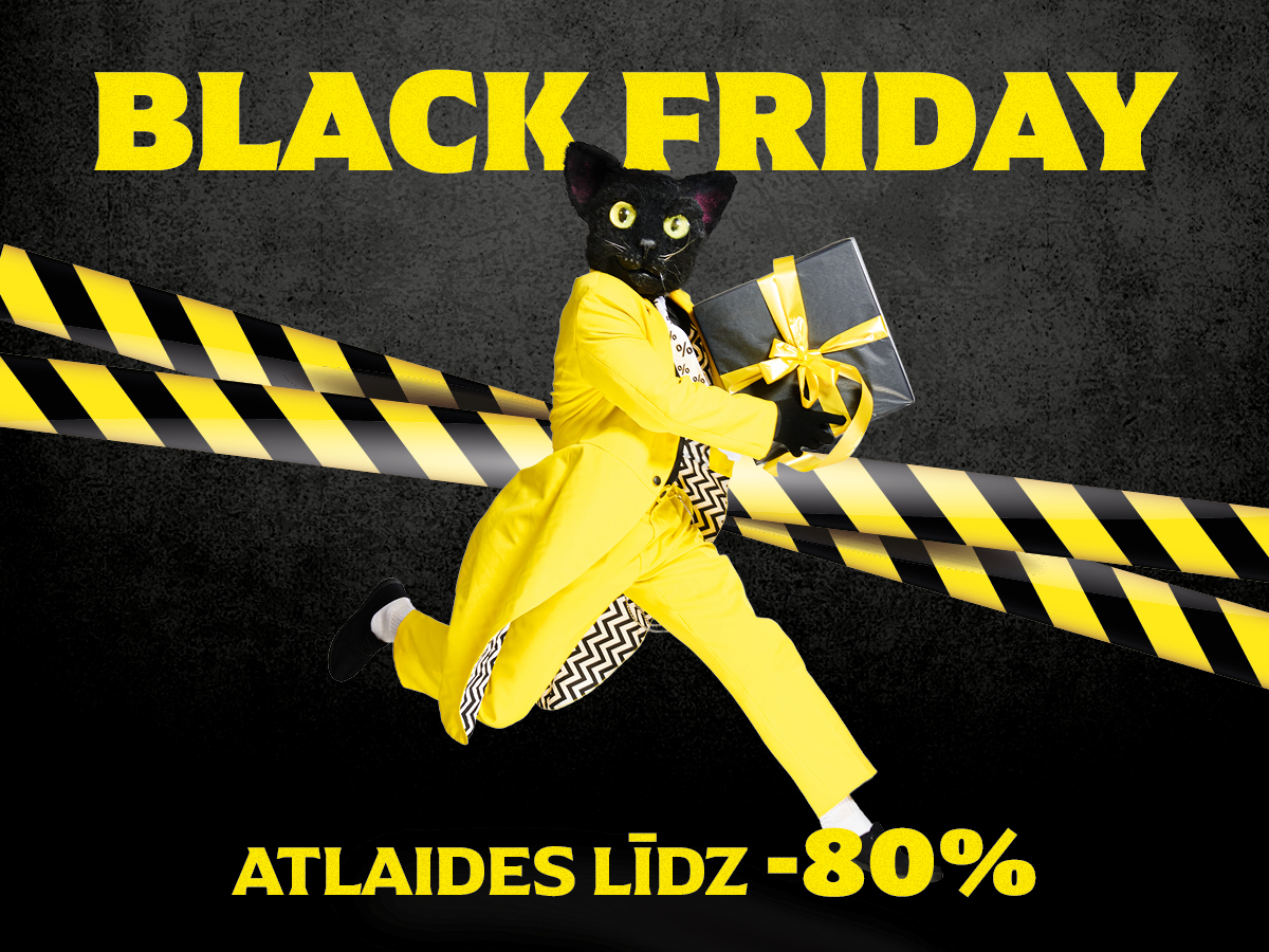 Black Friday izpārdošana