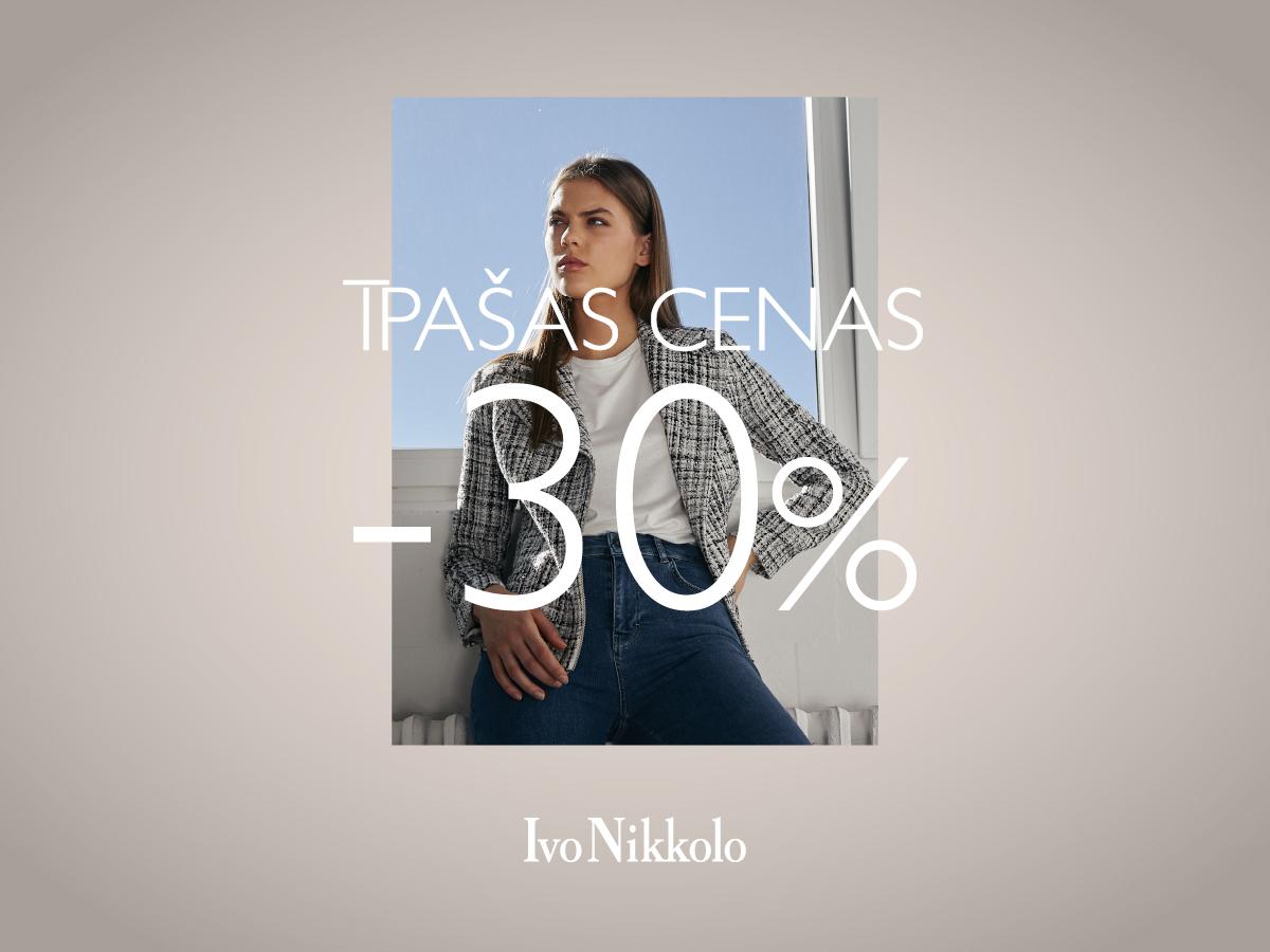 Īpašas cenas –30%