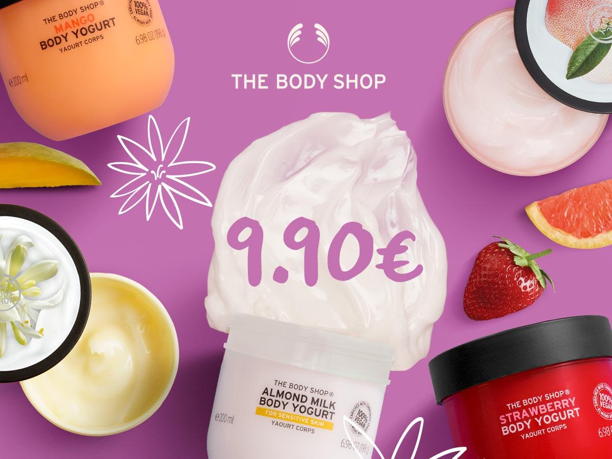 Ķermeņa jogurti tikai 9.90€