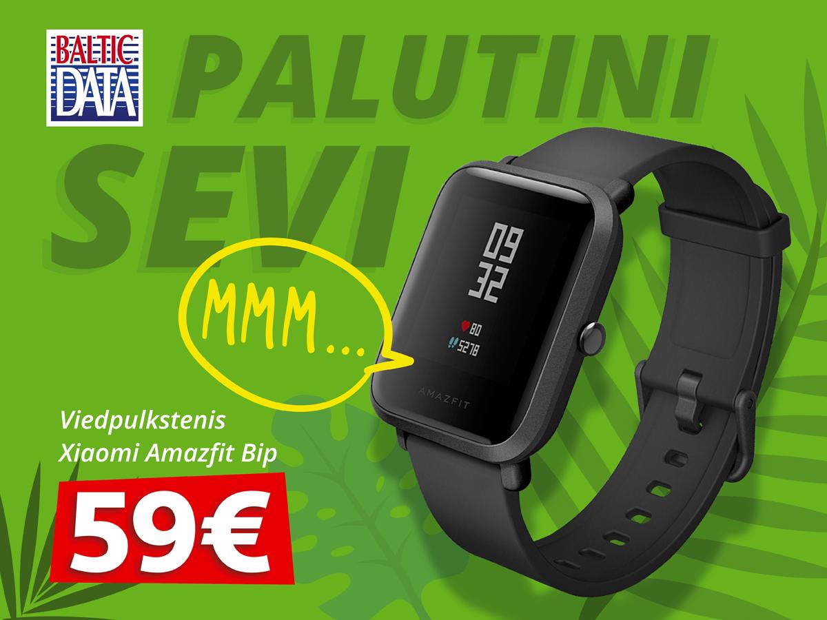 Viedpulkstenis Xiaomi Amazfit Bip – 59 EUR