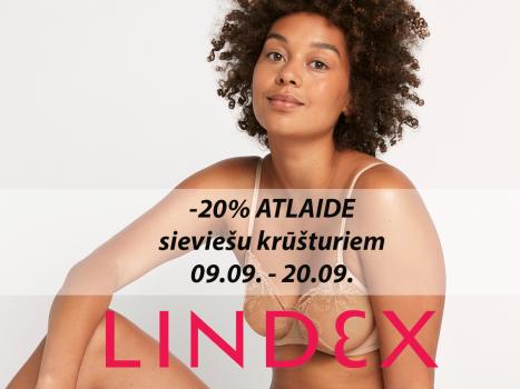 20% atlaide sieviešu krūšturiem