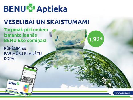 BENU EKO somiņas 1,99 EUR