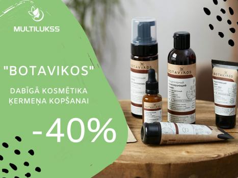 Botavikos ķermeņa kopšanas produktiem -40%