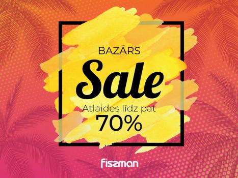 FISSMAN BAZĀRS SALE – atlaides līdz pat 70%. Īpaši piedāvājumi tikai 3 dienas!