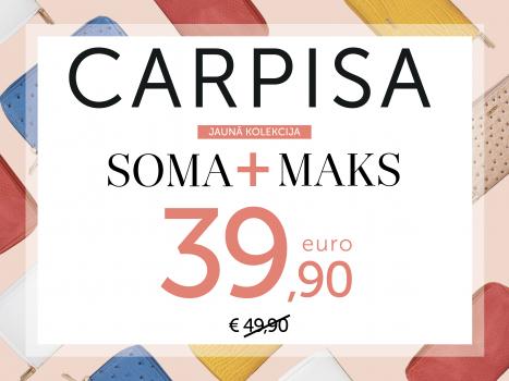 ĪPAŠA CENA PĒRKOT SOMU + MAKU = 39.90 EUR
