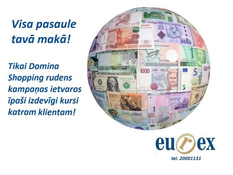 Īpaši izdevīgi kursi valūtas iegādei katram klientam!