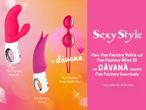 Izbaudi jautrību ar Fun Factory