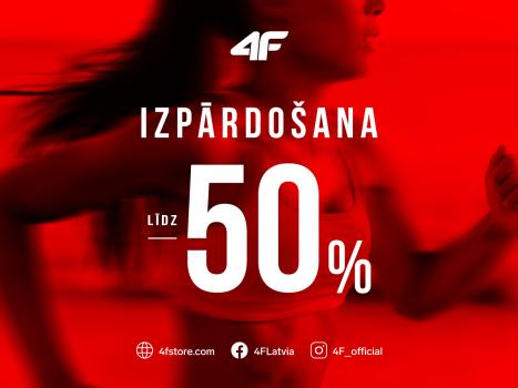 Izpārdošana līdz 50%