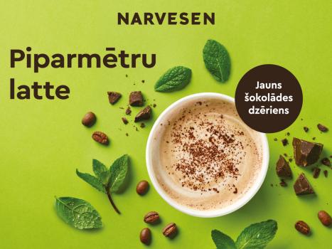 Jauns gards karstais dzēriens – piparmētru šokolādes latte