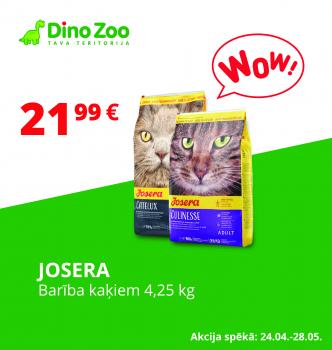 Josera kaķu barībai īpašs piedāvājums