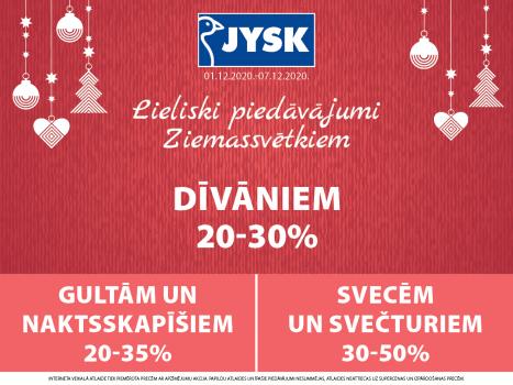 Lieliski piedāvājumi Ziemassvētkiem!