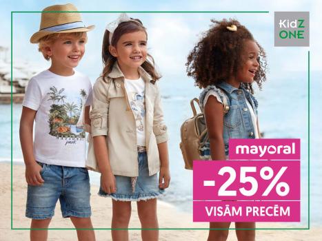 Mayoral precēm -25% atlaide!