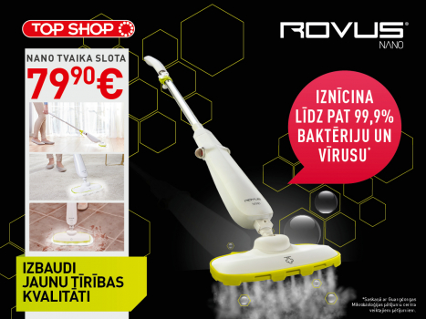 Nano floor steamer 79,90 Eur