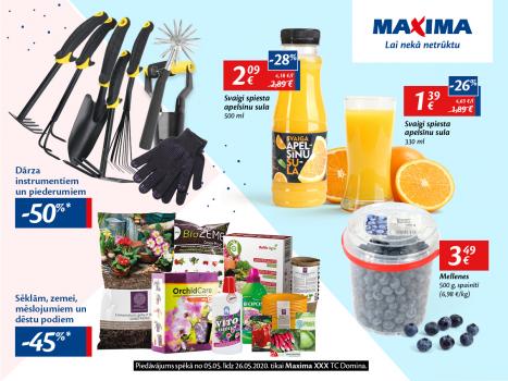 Pavasarīgas preces par labām cenām