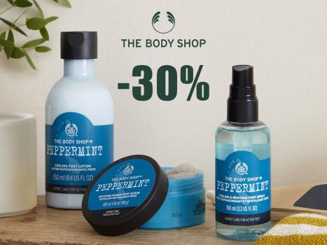 Piparmētru produkti kāju kopšanai -30%