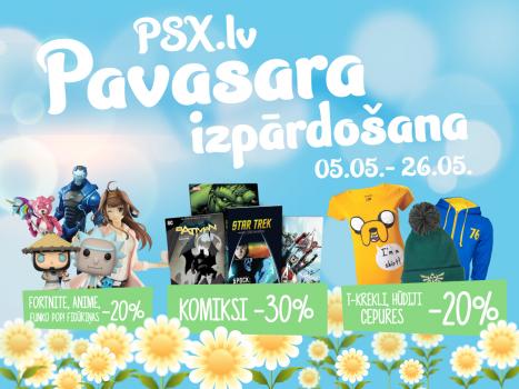 PSX.lv Pavasara izpārdošana