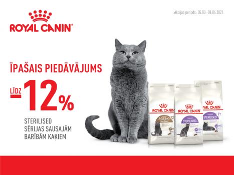 Royal Canin īpašai piedāvājums