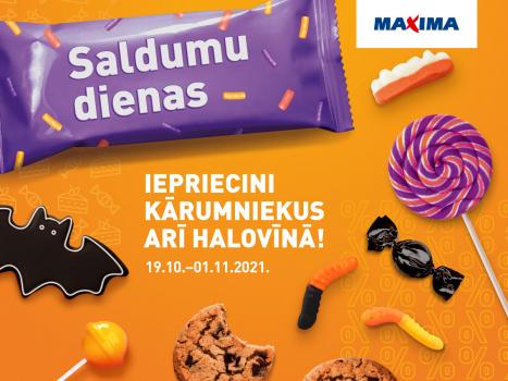 Saldumu dienas veikalā MAXIMA