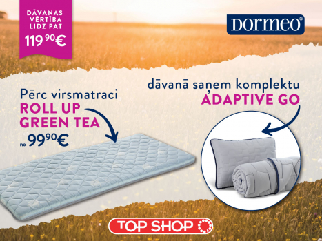 Virsmatracis Roll Up Green Tea + dāvanā Adaptive Go komplekts