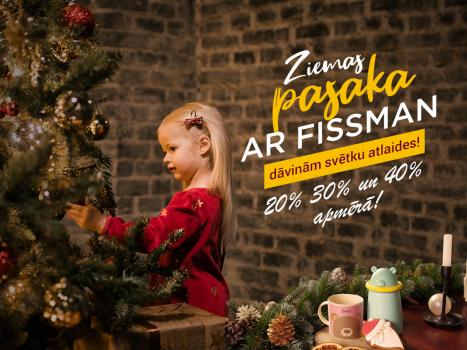 Ziemas pasaka ar FISSMAN! Svētku atlaides no 20% līdz 40%