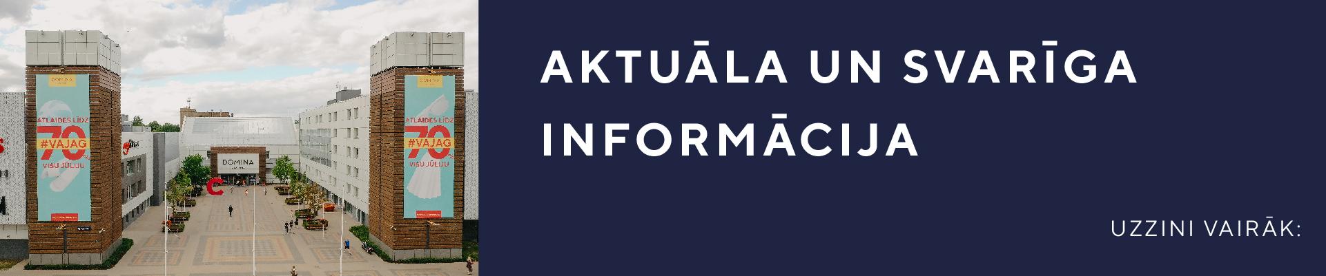Aktuāla informācija