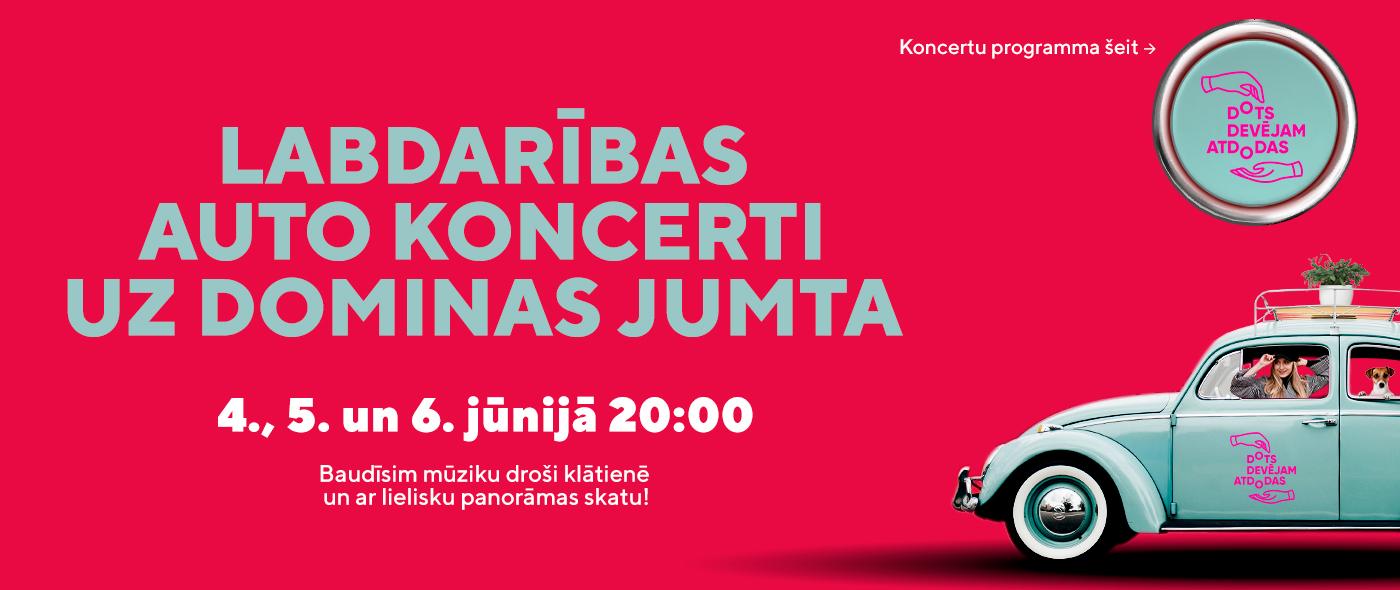 Labdarības koncerti Dots Devējam atdodas!
