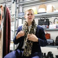 Aktuālākais modes trends vīriešiem – leoparda raksta zeķes!