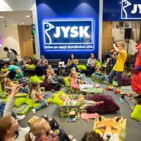 Bērnu multfilmu rīts ar JYSK   Lote un pazudušie pūķi