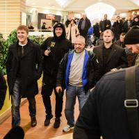 Maira Brieža un Oleksandra Usika publiskais treniņš