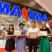 Maxima XXX veikala atklāšana 17. augustā