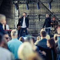 MUSIQQ koncerts uz Dominas jumta