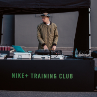 Nike+ Training Club treniņš uz Domina Shopping jumta