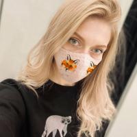 Sejas maskas kā neatņemams ikdienas aksesuārs: kā tās saskaņot ar savu apģērbu?