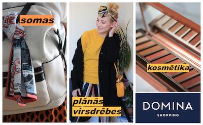 Karsti? Gatavojies rudenim kopā ar Domina Shopping!