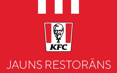 Jauns restorāns KFC